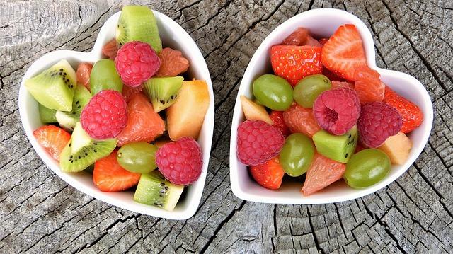 צלוחיות עם פירות