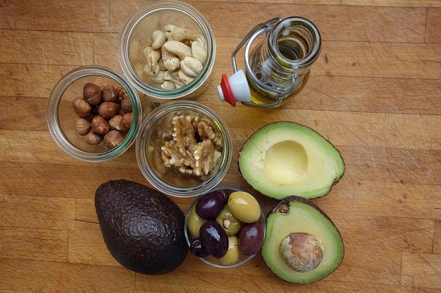 מקורות שומן מהצומח