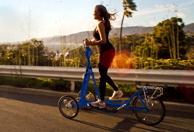 מכשיר אליפטיקל המשמש גם לתנועה כאופניים