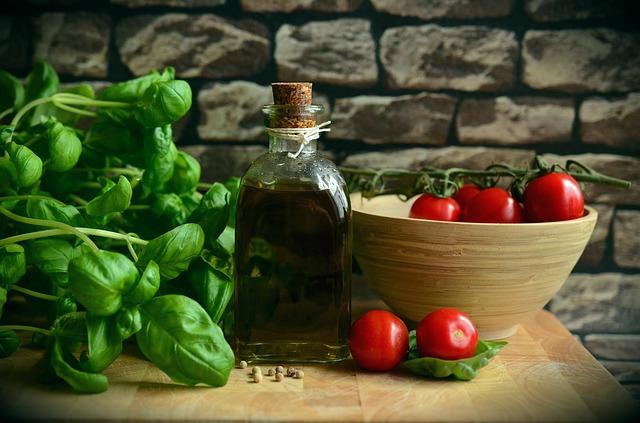 שמן זית עגבניות וריחן