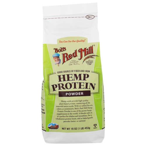 אבקת חלבון טבעונית מהמפ