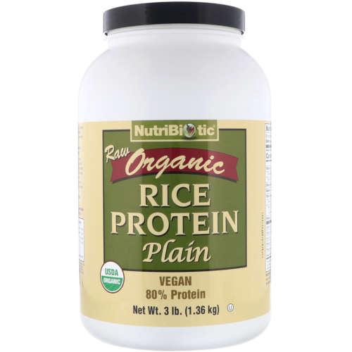 אבקת חלבון לטבעונים מחלבון אורז תוצרת נוטיביוטיק